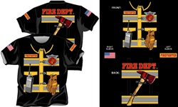 Jr. Firefighter Turnout T-Shirt