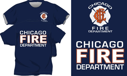 Chicago Fire Department T Shirt