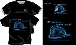 All Give Some Helmet T-Shirt