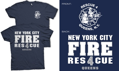 NYC Rescue 4 Queens T-Shirt