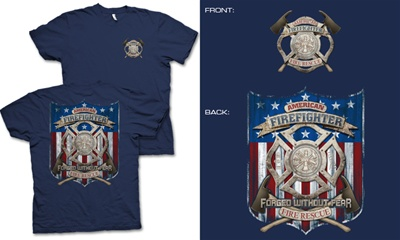 American Firefighter T-Shirt