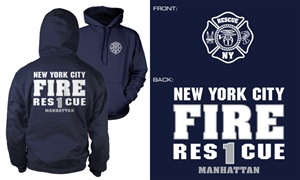 NYC Rescue 1 Hoody