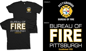 Pittsburgh Bureau of Fire Duty T-Shirt