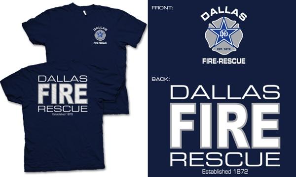 Dallas Fire Rescue T Shirt