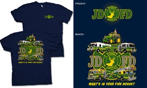 JDFD Firefighter T-Shirt