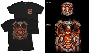 True Hero Firefighter T-Shirt