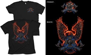 FireBird Volunteer Firefighter T-Shirt