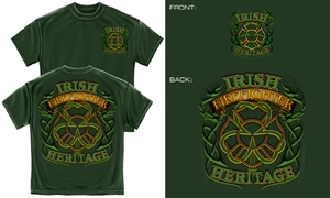Irish Heritage Firefighter T-Shirt