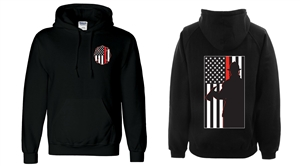 Thin Red Line Hooded Sweatshirt