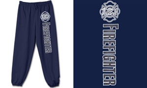 Firefighter Reflective Sweatpants