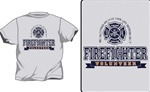 Firefighter Pride and Valor T-Shirt