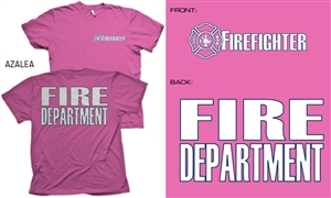 Firefighter Pink Duty T-Shirt
