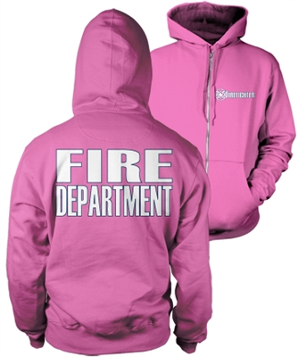 Firefighter Pink Duty Hoody