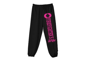 Firefighter's Wife Sweatpants (closed leg)