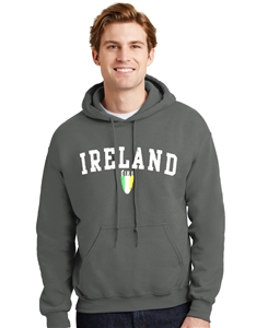 Ireland Eire Shield Hooded Sweatshirt