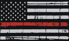 Thin Red Line Decal