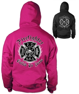 Called To Serve Firefighter Hoody