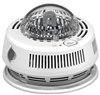 BRK Electronics First Alert 7010BSL 120V AC/DC Hardwired with Two AAA Battery Backup Photoelectric Smoke Alarm with Integrated Strobe Light