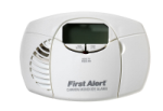 BRK Electronics First Alert CO410B 2 AA DC Batteries Operated Electrochemical Carbon Monoxide (CO) Alarm with Digital Display