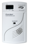 BRK Electronics First Alert CO614B 120V AC/DC Plug-in with 9V Battery Backup Electrochemical Carbon Monoxide (CO) Alarm with Digital Display