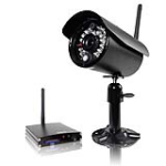 First Alert BRK D-575 Indoor/Outdoor 2.4 GHz Digital Wireless Color Camera with Receiver