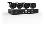First Alert BRK DCAD8410-700 SmartBridge Wired System 8 Channel/ 4 Camera Full D1 DVR Kit