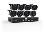 "First Alert BRK DCAD8810-700 SmartBridge Wired System 8 Channel/ 8 Camera Full D1 DVR Kit with 18.5"" LCD Monitor"