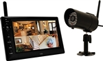 "First Alert BRK DWS-471 One Indoor/Oudoor 2.4 GHz Digital Wireless Color Camera with 7"" Digital Display"