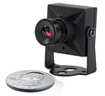First Alert BRK P-500 Mini Indoor Wired Analog Color Camera