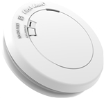 BRK Electronics First Alert Low Profile PR710B 10 Year Sealed Lithium Power Battery Operated Photoelectric Smoke Alarm