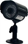 First Alert BRK PRO-CM520 Wired Digital Color Camera, 1/3 CMOS Indoor/Outdoor with Night Vision