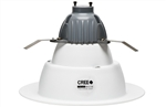 "CREE Lighting CR6-625L-40K-12-GU24 6"" LED Downlight, 4000K Color Temperature, 625 lumens, 120V, GU24 Base, True White"
