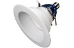 "CREE Lighting CR6-800L-40K-12-E26 6"" LED Downlight, 4000K Color Temperature, 800 lumens, 120V, E26 Base, True White"