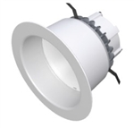 "CREE Lighting LR6-10L-27K-120V-A-DR  6"" LED Downlight, 1000 lumens, 2700K Color Temperature, GU24, dimmable to 5%"