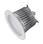 "CREE Lighting LR6-GU24 6"" LED Downlight, 650 lumens, 2700K Color Temperature, GU24 Base"