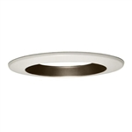 CREE Lighting LT6AG LR6 Shallow Recessed Trim, Graphite diffuse