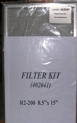 Fantech 402041 Replacement Filters For Shr1505r Shr1504