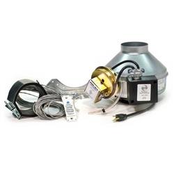 Fantech Dbf4xlt Advanced Dryer Booster Fan 110 Cfm 4 Inch