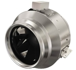 Fantech FKD12XLEC Inline Round Centrifugal Fan with EC Motor, Galvanized Steel Housing 1,936 CFM, 12 inch Round Duct