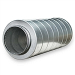 "Fantech LD12 Silencer for Round Ducting, 12-3/8"" Duct"