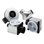 Fantech PB270-2 Premium Bathroom Exhaust Fan Kit 270 CFM, 4 inch Round Duct with Dual Grilles