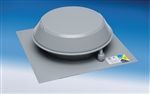 Fantech RE54 Roof Exhauster Attic Ventilation, Base for Installation without Curb 116 CFM, 4 inch Round Duct