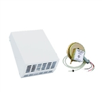 Fantech RVF4XL-DB10 Exterior Wall Mounted Dryer Booster Fan 110 CFM, 4 inch Round Duct with 10 Minute Off Delay Relay