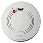 Firex 120-1072C AC Smoke Alarm with Battery Back-up and False Alarm Control
