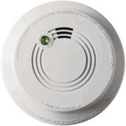 firex 484 photoelectric smoke alarm detector, 120v ac direct wire (upgraded  to p12040 + ka-f)