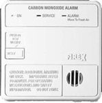 Firex 6040 Carbon Monoxide Alarm, AC Powered with Battery Back-up (Upgraded to Round Version KN-COB-IC + KA-F)