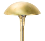 "Focus Industries AL-12-LEDP-RBV 12V 4W LED 300 lumens 8"" Mushroom Hat Area Light, Rubbed Verde Finish"
