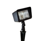 Focus Industries CDL-15-H-RBV 12V 35W T4 DC Halogen Directional Floodlight, Rubbed Verde Finish