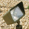 Focus Industries DL-16-NL-MH-150-RST 120V Directional Floodlight Cast Aluminum Style 150W MH, Rust Finish