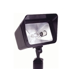 Focus Industries DL-16-NLHPS70-WTX 120V 70W HPS HID Directional Cast Aluminum Floodlight, Lamp not included, White Texture Finish